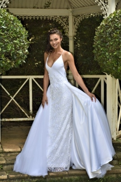 13-new-romantics-bridal-white-straight-cut-beaded-wedding-dress-with-detachable-A-line-skirt