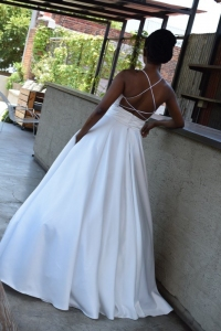 27-new-romantics-bridal-Off-white-full-satin-ballgown-wedding-dress-with-pockets-low-back-with-strap-detail