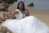23-new-romantics-bridal-Beach-wedding-dress-with-3d-flower-lace-bodice.a-line-satin-and-mesh-skirt