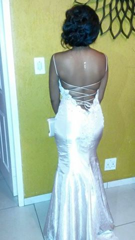 Matric dance dress for Palesa  by New Romantics Bridal Couture 1