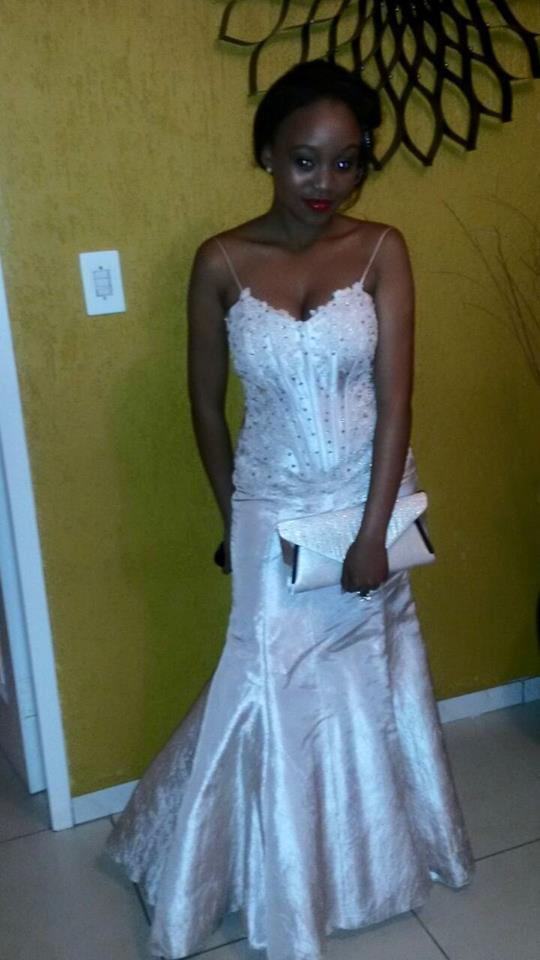 Matric dance dress for Palesa  by New Romantics Bridal Couture 2
