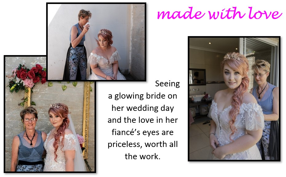 New Romantics Seeing a glowing bride on her wedding day and the love in her fiances eyes are priceless worth all the work