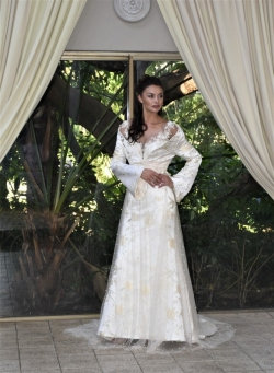 23-new-romantics-bridal-cream-gold-brocade-A-line-wedding-dress-with-detachable-jacket