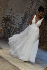 28-new-romantics-bridal-off-white-A-line-deep-V-neck-line-wedding-dress-with-mesh-skirt