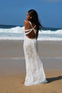 30-new-romantics-bridal-Low-back-beach-wedding-dress-in-soft-Chantilly-lace-with-chiffon-strap-back-detail