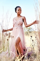 13-new-romantics-evening-matric-dance-dress-hire-Rose-pink-3d-lace-bodice-with-soft-flair-skirt