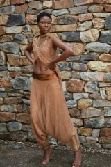 36-a-new-romantics-gold-rust-harem-pants-with-loose-bodice-and-spike-shoulder-detail-dress