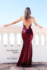 59-new-romantics-Low-back-burgundy-sequin-fit-flair-dress_