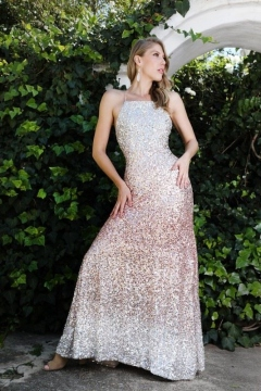 11-evening-dress-hire-ombre-rose-gold-sequin-halter-neck-dress-with-low-back